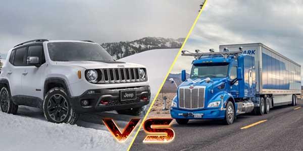 Truck vs Jeep