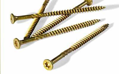 long screws for wood