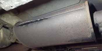 Car Exhaust Leak