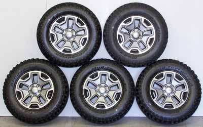Jeep Wrangler Standard Wheels